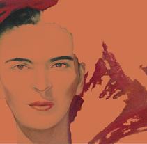 Frida Kahlo. A Design project by Nat Larte         - 19.03.2014