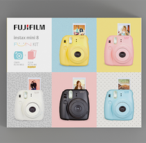 Instax Mini. A Packaging project by Astrid  Ortiz - Mar 24 2014 12:00 AM