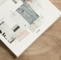 Libro Scher - Recopilación de proyectos realizados en el Posgrado de Diseño y dirección de arte. . Um projeto de Design, Design editorial e Design gráfico de paula garcés - 25-03-2014