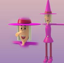 Bruja. Un proyecto de 3D, Animación y Diseño de personajes de Oscar Carballo         - 25.03.2014