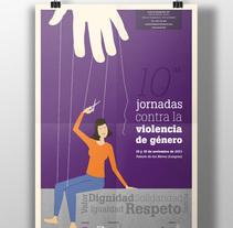 10ª Jornadas contra la violencia de género. A Illustration project by Zahira Rodríguez Mediavilla - Nov 18 2011 12:00 AM