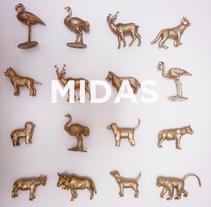 Midas. La transformación de la materia en oro. Un proyecto de Bellas Artes, Dirección de arte y Diseño gráfico de Carolina Carbó - Miércoles, 02 de abril de 2014 00:00:00 +0200