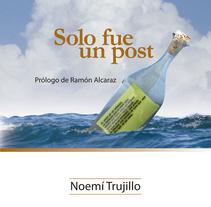 Ilustración para portada, Playa de Ákaba. Um projeto de Design editorial de Enerio Polanco         - 02.04.2014