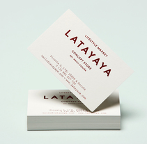 Latayaya Concept Store identity. A Design, Br, ing, Identit, and Graphic Design project by Play&Type Art Direction & Design  - 03-04-2014