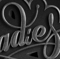Ladies. Un proyecto de Ilustración, Diseño gráfico y Tipografía de Óscar Lorenzo         - 06.04.2014
