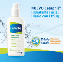 Cetaphil. A Design, Br, ing, Identit, Events, Graphic Design, and Packaging project by Julieta Giganti         - 07.01.2013