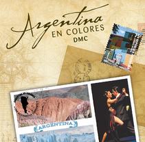 Argentina en Colores DMC. A Design, Br, ing, Identit, Graphic Design, and Web Design project by Julieta Giganti         - 30.04.2012
