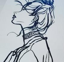 Girls. A Illustration project by Núria   Zapatero Sánchez         - 12.04.2014