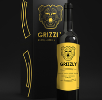 "Label ""GRIZZLY"". A Editorial Design, Graphic Design, and Packaging project by Killian López         - 25.03.2014"