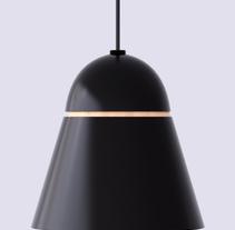 Modelado de una lampara -3D. A Interior Architecture project by Alba Nàjera Carné - 27-04-2014