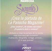 ¡Diseña la portada de La Panocha Magazine! Bases del concurso: http://lapanochamagazine.net/concursoportadan3/. Um projeto de Design, Ilustração e Fotografia de La Panocha Magazine Murcia  - 01-05-2014