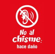 """Campaña contra el """"chisme"""" en EsSalud. A Graphic Design, and Marketing project by Edwin Chávez Romero - 01-05-2014"""