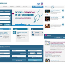 Todos hacemos fundaciones.es. A Software Development, Web Design, and Web Development project by seven  - Oct 01 2013 12:00 AM