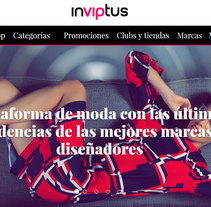inVIPtus. A Advertising, UI / UX, Art Direction, Graphic Design, Information Architecture, Marketing, Web Design, and Web Development project by Marcos Huete Ortega         - 06.05.2014