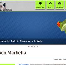 Idea Seo Marbella. Un proyecto de UI / UX, Marketing, Diseño Web y Desarrollo Web de Antonio M. López López - 10-05-2014