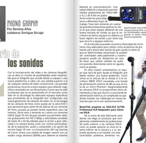 Artículo para la revista Arte Fotográfico. A Music, Audio, Film, Video, TV, and Multimedia project by Enrique Orcajo Ramos         - 11.05.2014