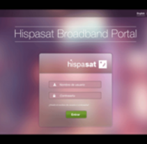 Hispasat Broadband. A UI / UX project by Alex R Chies - May 13 2014 12:00 AM