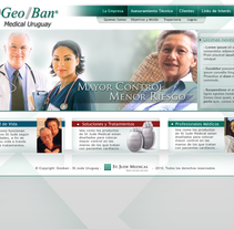 Geo Ban Medical. A UI / UX, Graphic Design, Interactive Design, Web Design, and Web Development project by José Ismael Ferreira Graside - 13-05-2014