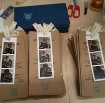 Invitaciones de boda. Um projeto de Design gráfico de Marta Comas Mundet         - 27.03.2014