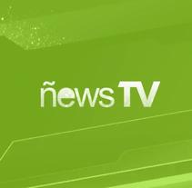 ñewsTV: Promocional. A Motion Graphics, and Animation project by Jorge García Fernández         - 16.05.2014