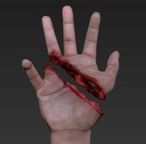 3D HAND _ Medical illustration to walking dead XD. Un proyecto de 3D y Dirección de arte de Ismael Alabado Rodriguez - Sábado, 17 de mayo de 2014 00:00:00 +0200