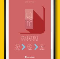 Trendy summer colöurs. Um projeto de Design, Ilustração, Publicidade, Direção de arte, Br, ing e Identidade e Design gráfico de Carlos Parra Ruiz - 21-05-2014