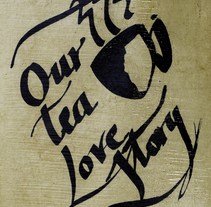 Our Tea Love Story (cabinet of curiosities). A Fine Art, and Writing project by bel bosCk i bagué - 14-06-2013