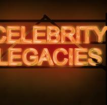 Celebrity Legacies (ReelzChannel). Um projeto de Ilustração, Motion Graphics, Cinema, Vídeo e TV, Animação, Direção de arte, Design gráfico, Multimídia e Pós-produção de Gloria Peiró Pérez         - 28.05.2014