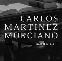 Carlos Martinez Murciano. Diseño de marca. . Um projeto de Br, ing e Identidade e Web design de Plan D Creativos         - 18.12.2013