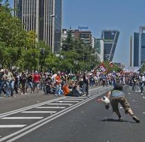 """Reportajes """"Marcha Minera"""" y """"La Crisis 2012"""". Um projeto de Design e Fotografia de Noelia Díaz Medina         - 30.06.2012"""