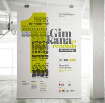 GIMKANA del Reciclado 2013 Cruz Roja.Diseño de Gráfica.. Um projeto de Ilustração e Design gráfico de Plan D Creativos         - 15.06.2013
