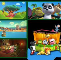 Panda y sus Amigos. Un proyecto de 3D y Animación de Iván Pardo - 30-05-2014