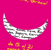 Festes de Gràcia 2014. Um projeto de Design e Design gráfico de Rosa Alonso García         - 03.06.2014