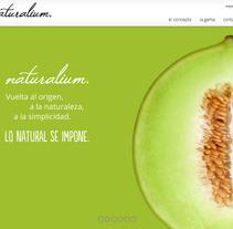 Naturalium. A Web Development project by Jaime Sanchez - Jun 06 2014 12:00 AM