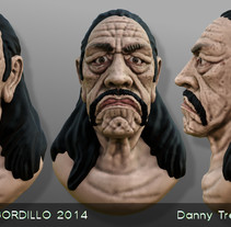 Machete. A 3D project by Daniel F. R. Gordillo         - 08.06.2014