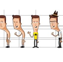 Les aventures de Mortimer . Um projeto de Design, Ilustração, Animação, Design de personagens, Educação, Design interativo e Multimídia de Gong         - 09.03.2014