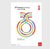 MMVV 25. A Graphic Design project by Bisgràfic  - 09-06-2014