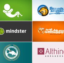 Recopilación de logos. Un proyecto de Diseño, Br, ing e Identidad y Diseño gráfico de David Figuer - 15-06-2014