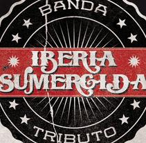 IBERIA SUMERGIDA · TRIBUTO HEROES DEL SILENCIO | poster. Un proyecto de Diseño, Ilustración, Publicidad, Fotografía y Diseño gráfico de alejandro escrich - 14-10-2013