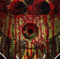 TROCOTOMBIX + CEMENTERIO + CANNIBAL FEROX | poster. Un proyecto de Diseño, Ilustración, Publicidad y Diseño gráfico de alejandro escrich - 07-04-2014