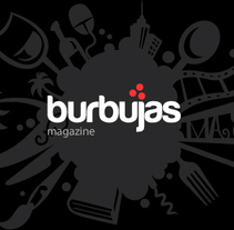 Burbujas Magazine. Un proyecto de Br, ing e Identidad, Desarrollo Web y Diseño Web de Andrea Pérez Dalannays - Jueves, 19 de junio de 2014 00:00:00 +0200