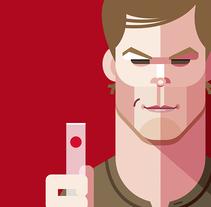 Dexter. Um projeto de Ilustração de Ricardo Polo López         - 23.06.2014