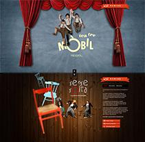 Teatre móbil. Um projeto de Web design e Desenvolvimento Web de Alba Junyent Prat         - 25.06.2014