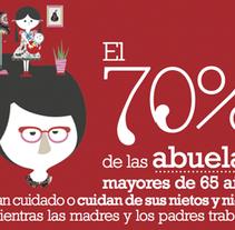 Cruz Roja. Corresponsabilidad. A Animation, Art Direction, Design&Illustration project by arancha  - Jun 27 2014 12:00 AM