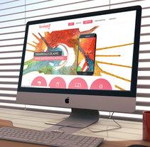 Kurukatá Studios Website. Un proyecto de Br, ing e Identidad, Diseño gráfico y Diseño Web de Kurukatá Studios  - 05-07-2014