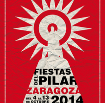 Fiestas del Pilar 2014. A Design, Illustration, and Graphic Design project by Joan Carles Claveria         - 01.05.2014