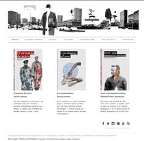 Editorial Dos Bigotes. Un proyecto de Dirección de arte, Diseño Web y Desarrollo Web de Nacho Salvador         - 06.07.2014