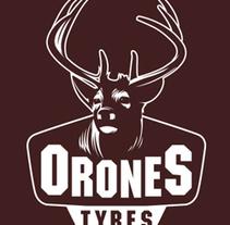 Orones Tyres. A Br, ing&Identit project by Maialen Echaniz Olaizola - Apr 25 2013 12:00 AM