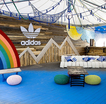 Stand Adidas Sonar Pro. A Crafts&Interior Design project by Alícia Roselló Gené - Jun 15 2012 12:00 AM