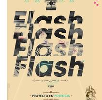 CREATIVIDAD CARTEL EXPO FOTOGRAFÍA ¨PROYECTO EN POTENCIA¨ . A Graphic Design project by José Antonio Serrada García         - 16.07.2014
